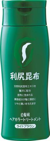 Sastty 日本利尻昆布染髮護髮乳(淺咖啡色)200g,NT1,280