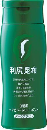 Sastty 日本利尻昆布染髮護髮乳(深褐色)200g,NT1,280