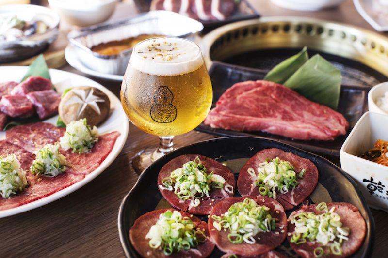 乾杯燒肉首度販售精釀啤酒,吃好肉配好酒