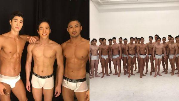 臉蛋和身材超犯規!韓國歐巴性感內衣照 迷人微笑讓人臉紅心跳