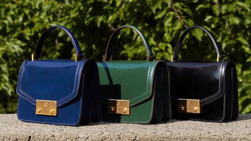 JULIETTE迷你手提包($20,900),台灣地區推出寶藍、草綠兩色