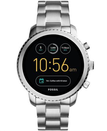 Q Explorist觸控式螢幕智慧型腕錶 不鏽鋼錶帶 NT11,300(FTW4000)