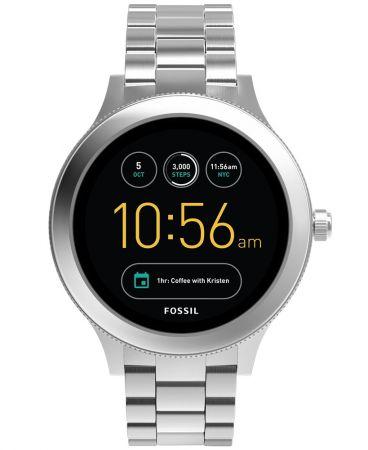 Q Venture觸控式螢幕智慧型腕錶 不鏽鋼錶帶 NT11,300(FTW6003)