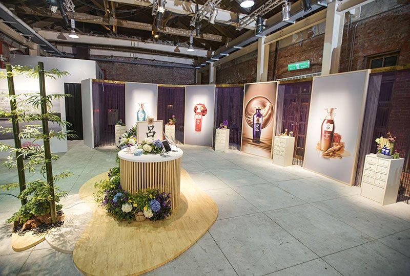 《呂Ryo》品牌發表會-打造美麗秀髮之「呂」展示區