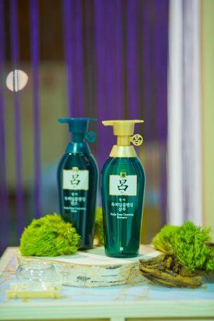 《呂Ryo》韓方修護洗髮精&潤髮乳-油性髮質適用
