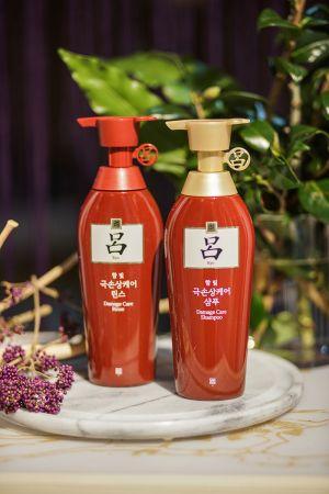 《呂Ryo》韓方修護洗髮精&潤髮乳-受損髮質適用