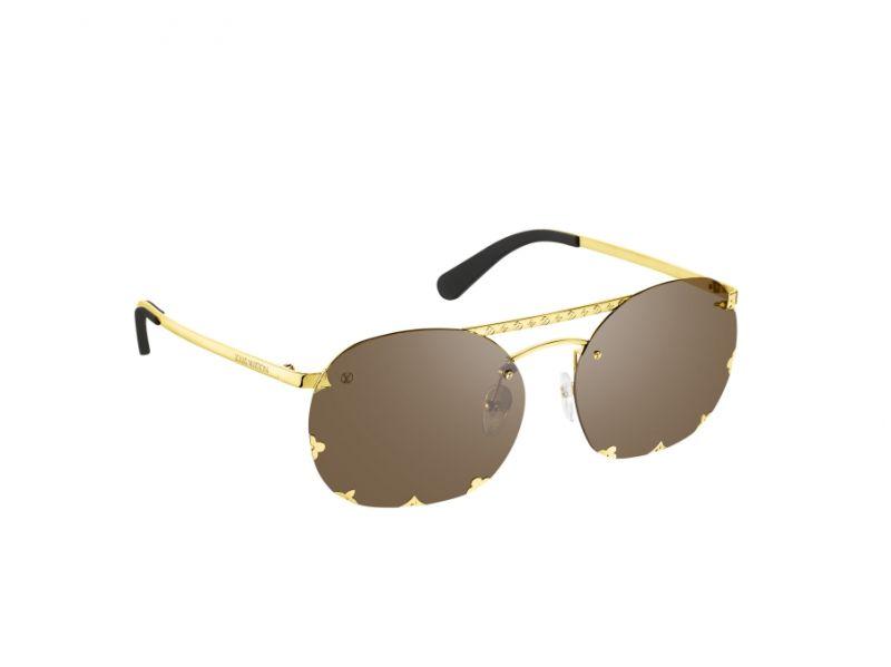 Monogram 圖紋金屬太陽眼鏡,Louis Vuitton,NT23,400。