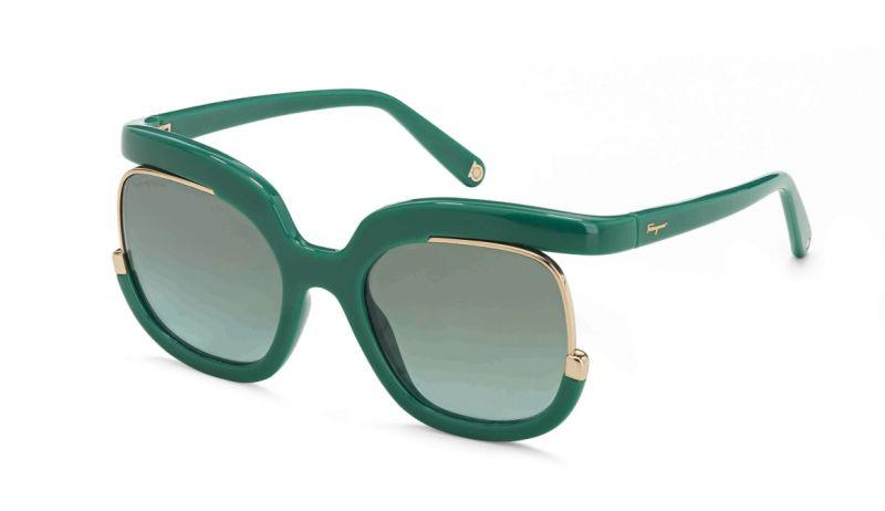 膠框造型太陽眼鏡,Salvatore Ferragamo,NT15,500。