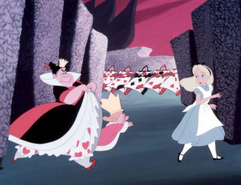愛麗絲夢遊仙境_紅心皇后