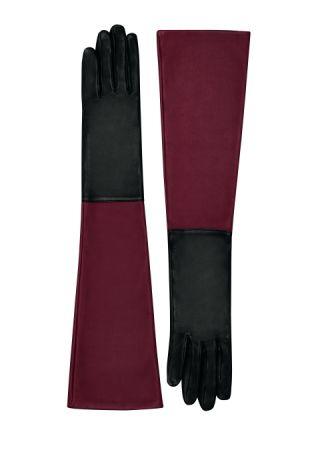 釉面小羔羊皮長手套,Hermès,NT31,700。
