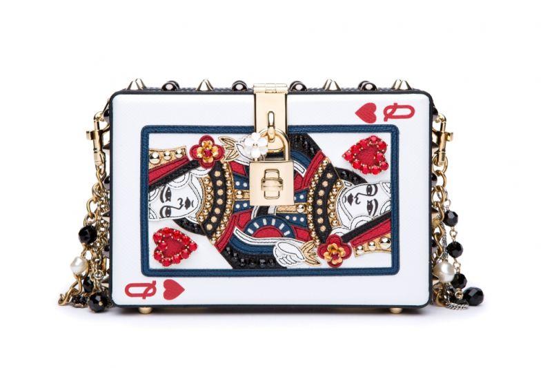 撲克牌造型鍊帶包,Dolce&Gabbana。