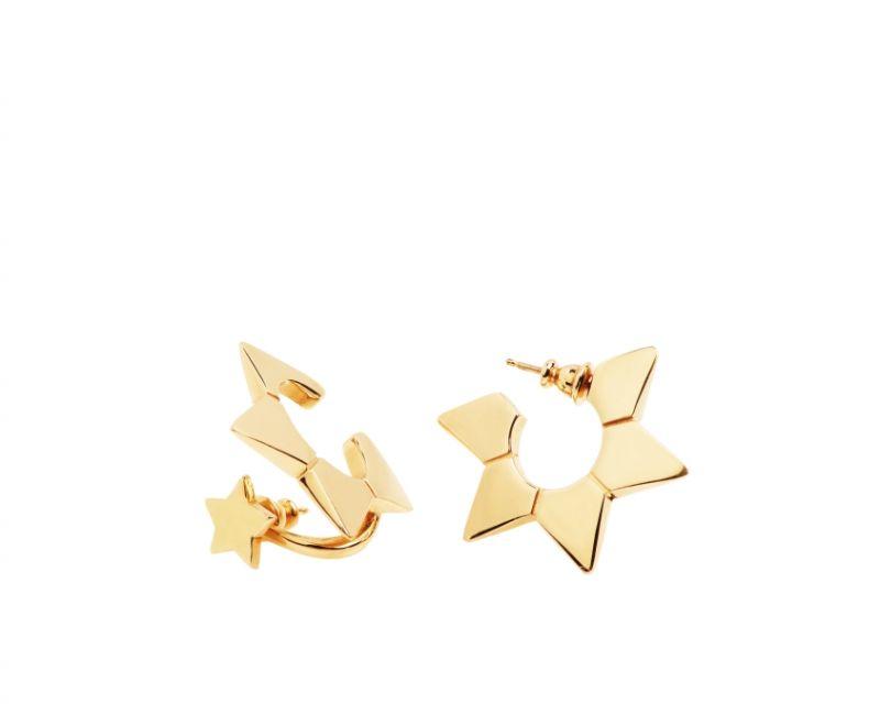 星星造型黃銅耳環,Chloé,NT13,800。