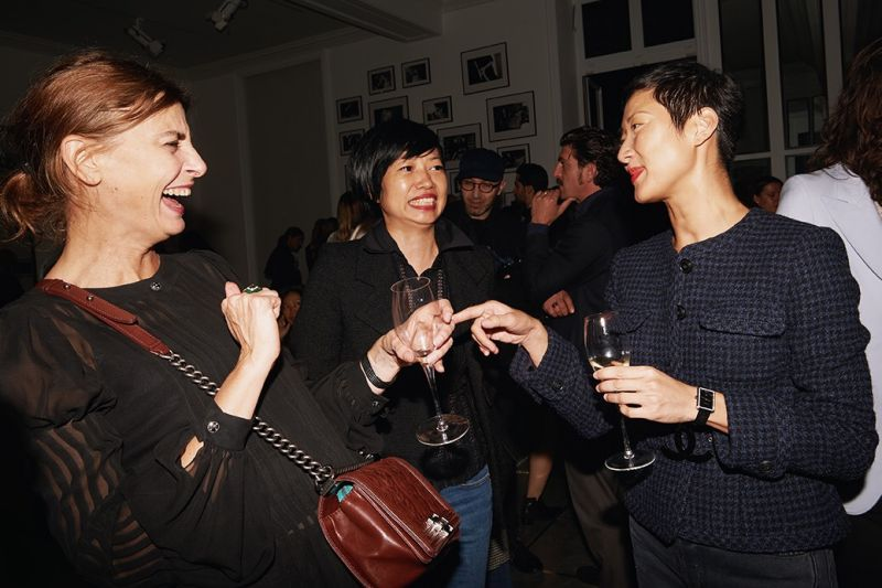 巴黎時裝週直擊,台灣名人唯ㄧ受邀,孫怡和Chanel品牌大使們ㄧ同在Code Coco腕錶發表私人派對上狂歡!