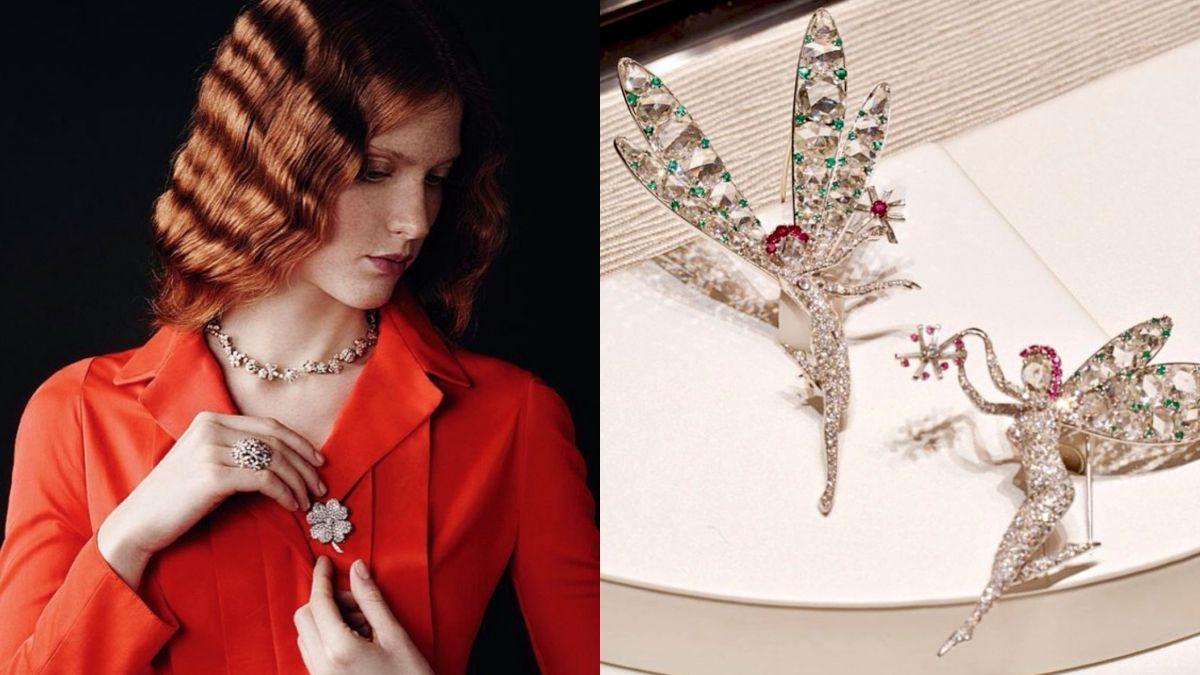 梵克雅寶傳承典藏總監Catherine Cariou:「胸針是最能激發人們創意的珠寶!」
