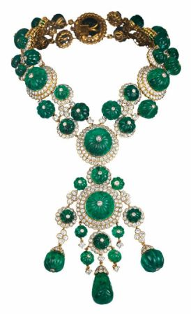 Indian Inspiration 項鍊,1971年,可拆卸成兩條手鍊與一只胸針。