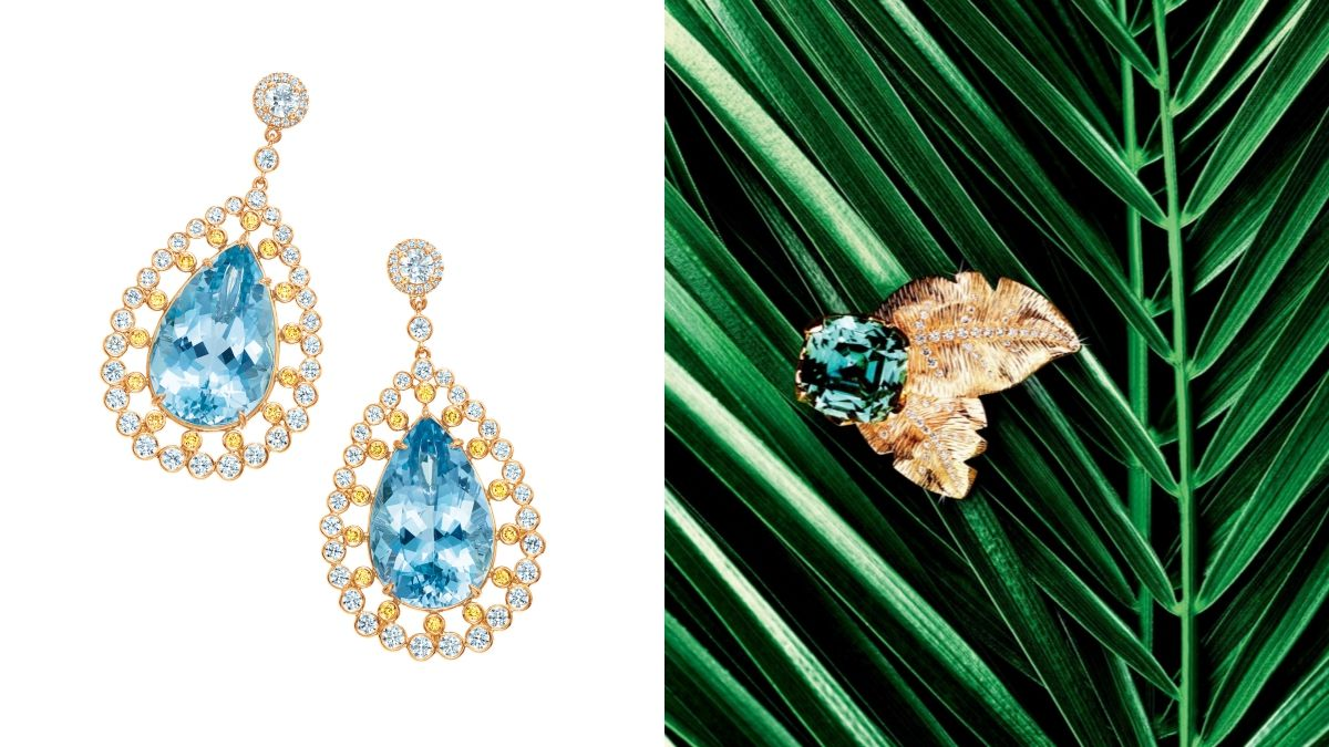 【珠寶小學堂】討人喜歡的冷色系寶石!清澈迷人的海水藍寶、丹泉石與碧璽