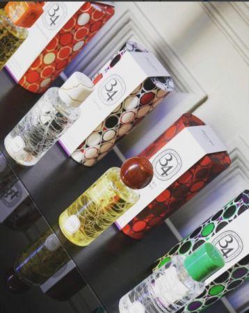 全新開幕的diptyque專賣店最具賣相的就是這組充滿藝術人文風情的「調香師珍藏系列」。