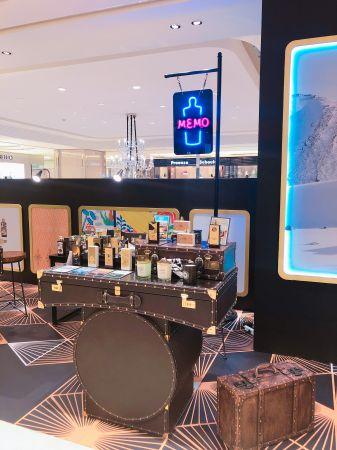 Memo是Cyrano代理的香水品牌,以旅程中的記憶為香水靈感。