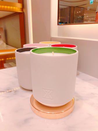 MFK也將引進與法國同步銷售的全新香氛蠟燭系列「美好家香」,5款以Francis Kurkdjian童年回憶為靈感的手工蠟燭,第一批貨每款才45個,非常限量。