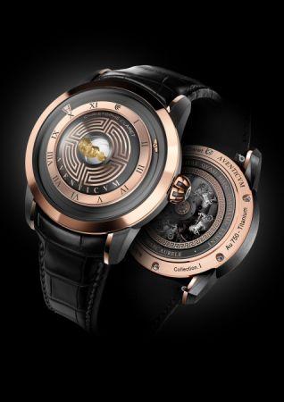 Christophe Claret Aventicum玫瑰金腕錶,建議售價NT1,850,000。
