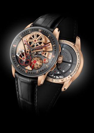 Christophe Claret Maestro玫瑰金腕錶,建議售價NT2,880,000。