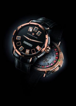 Christophe Claret 21 Blackjack 腕錶,建議售價NT7,250,000。