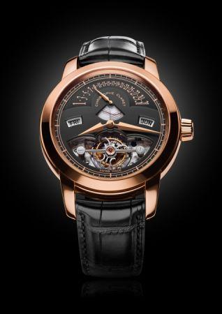 Christophe Claret Rialto 萬年曆時間等式 玫瑰金腕錶,建議售價NT9,900,000。