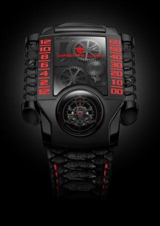 Christophe Claret X-Trem-1 StingHD限量版腕錶,建議售價NT9,900,000。