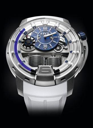 HYT H1 Iceberg 液壓顯示腕錶,建議售價NT2,150,000。