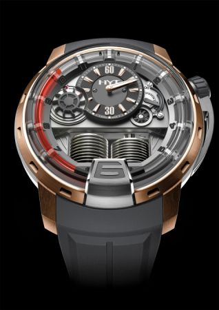 HYT H1 Red 2 液壓顯示腕錶,建議售價NT2,460,000。