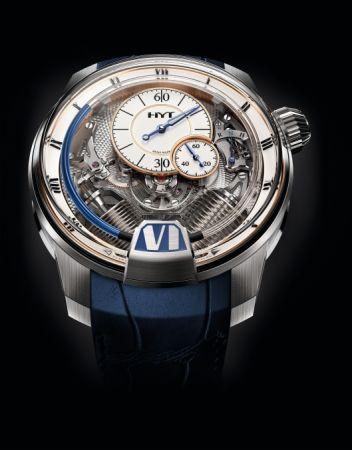HYT H2 Tradition 液壓顯示腕錶,建議售價NT6,280,000。