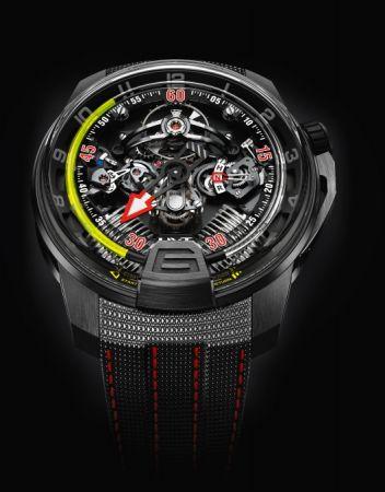 HYT H4 Metropolisi液壓顯示腕錶,建議售價NT3,380,000。