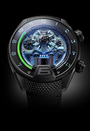 HYT H4 Neo液壓顯示腕錶,建議售價NT3,550,000。