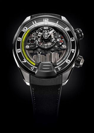 HYT H2 Aviator液壓顯示腕錶,建議售價NT5,260,000。