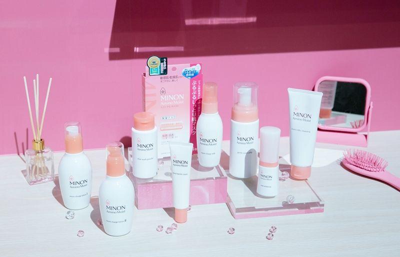 MINON蜜濃氨基酸滋潤保濕全系列產品。