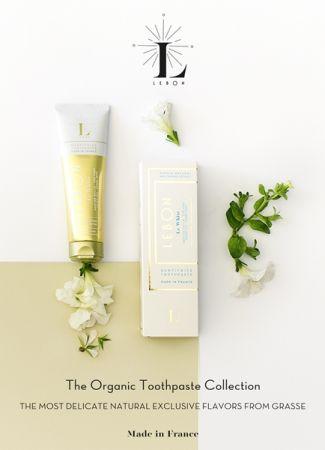 LEBON香氛牙膏-自然純淨的白(摩洛哥甜薄荷、綠茶)75ml,NT760