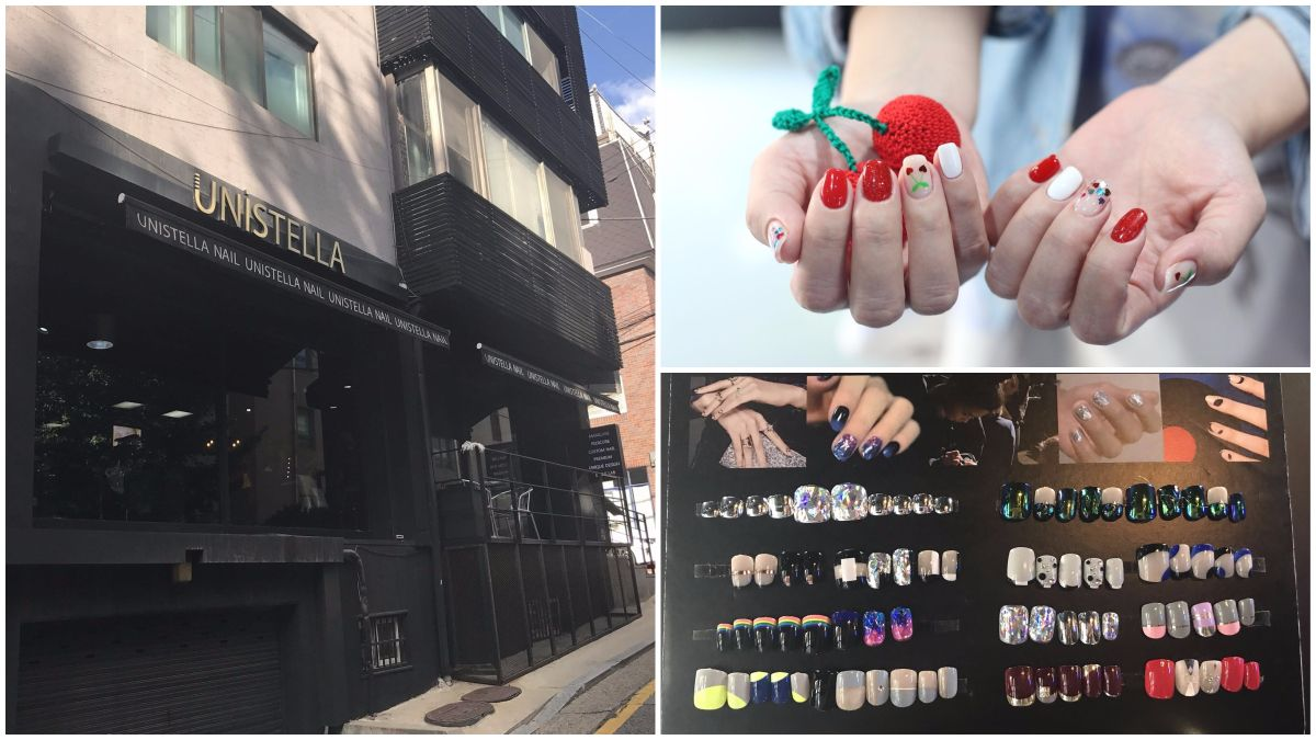 【Nana的美甲大小事】到首爾玩美甲!造訪IG人氣美甲店『TREND NAIL uniStella』