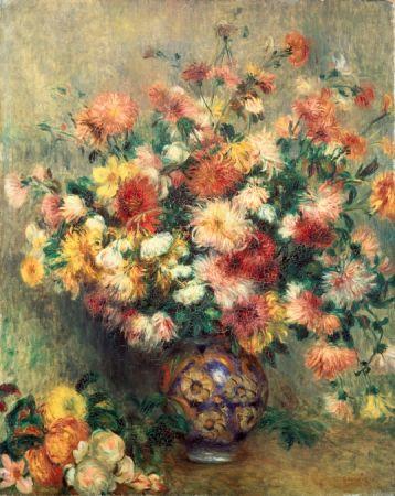 Pierre-Auguste Renoir_Les Dahlias