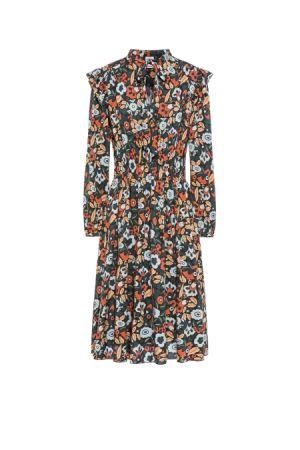 花朵洋裝,M Missoni。