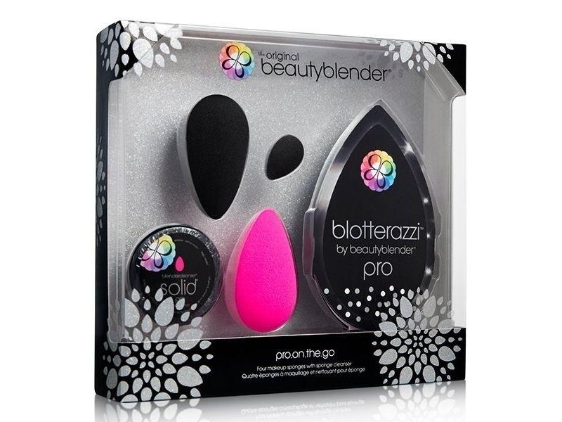 beautyblender Pro On The Go!專業晶鑽黑限量禮盒,NT1790