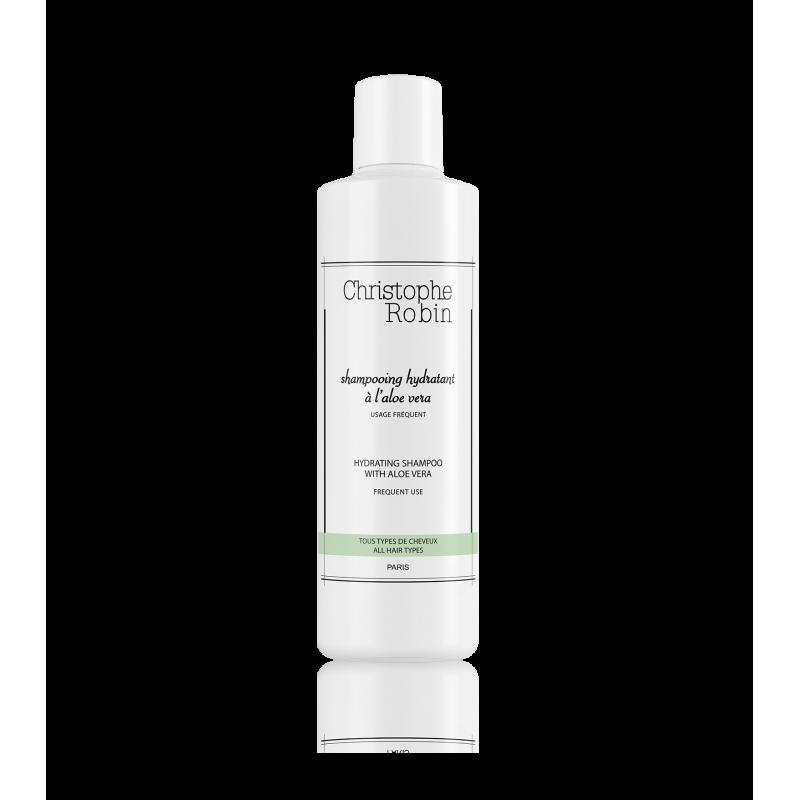 Christophe Robin蘆薈保濕修護洗髮精,250ml/NT1350。