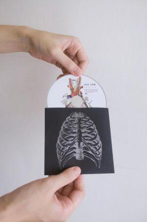 Easy Shen《如果身體全部開放了》 專輯裝幀設計