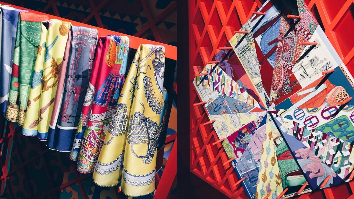 把絲巾圖案變成闖關小遊戲!愛馬仕「Crazy Carré炫舞方巾」北京派對直擊