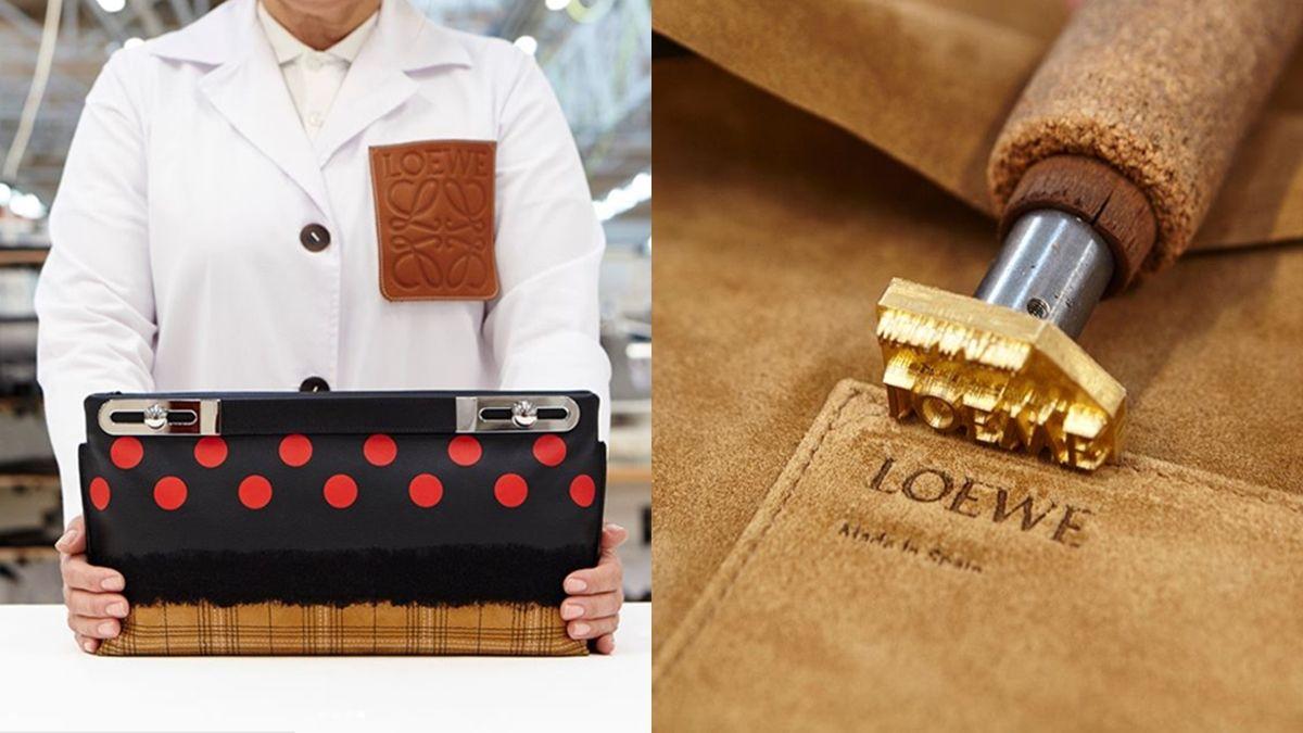 每個細節都讓人讚嘆!LOEWE特別版Missy Dots手袋製作過程揭密