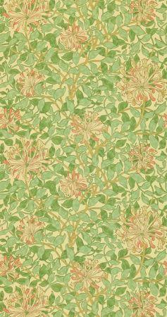 William Morris Honeysuckle print