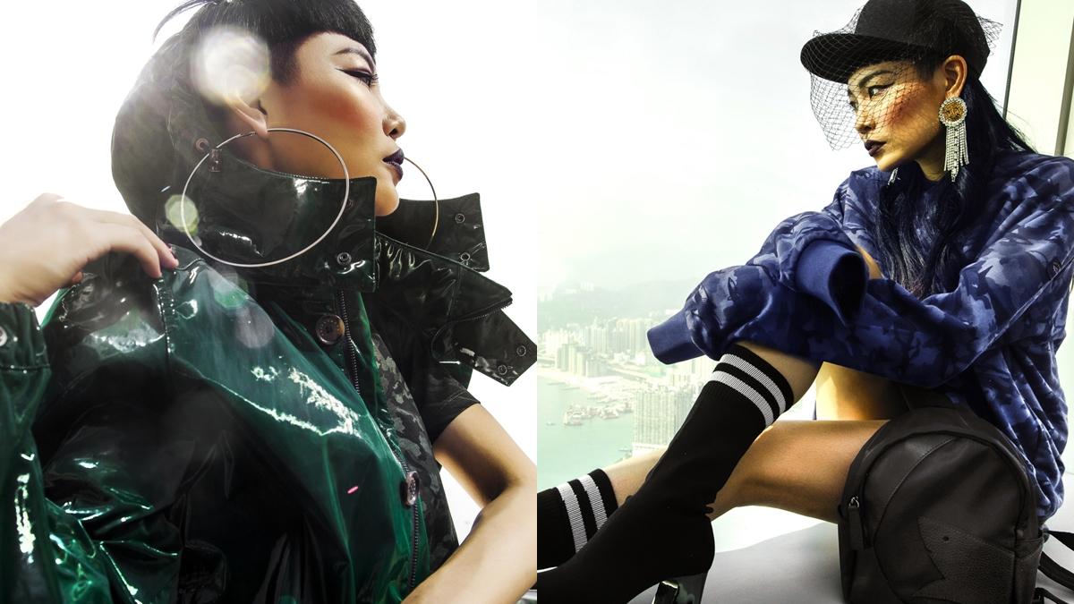 高段混搭的超魅力!潮流天后 Judy Chou 的 sporty chic 潮拍示範