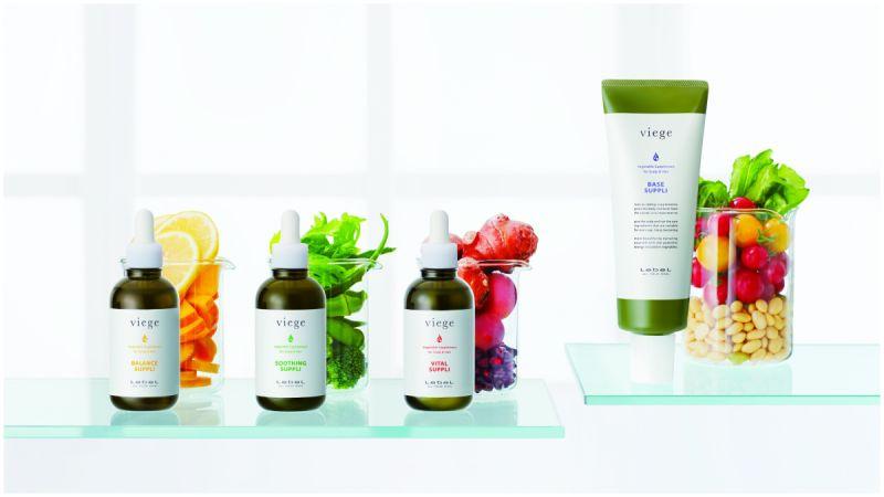 viege 蔬果能量賦活 頭皮營養補給系列