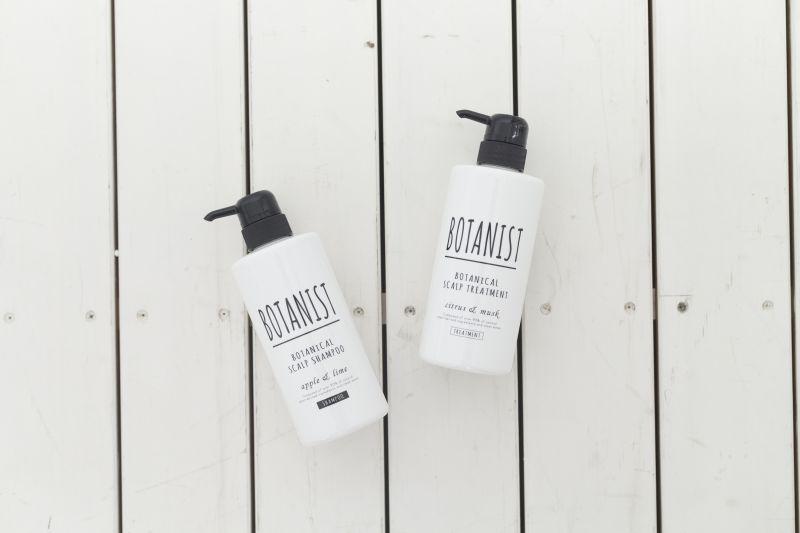 BOTANIST植物性洗潤護髮系列(頭皮滋潤型)植物性洗髮精 490ml,NT 550、植物性潤髮乳490ml,NT 550