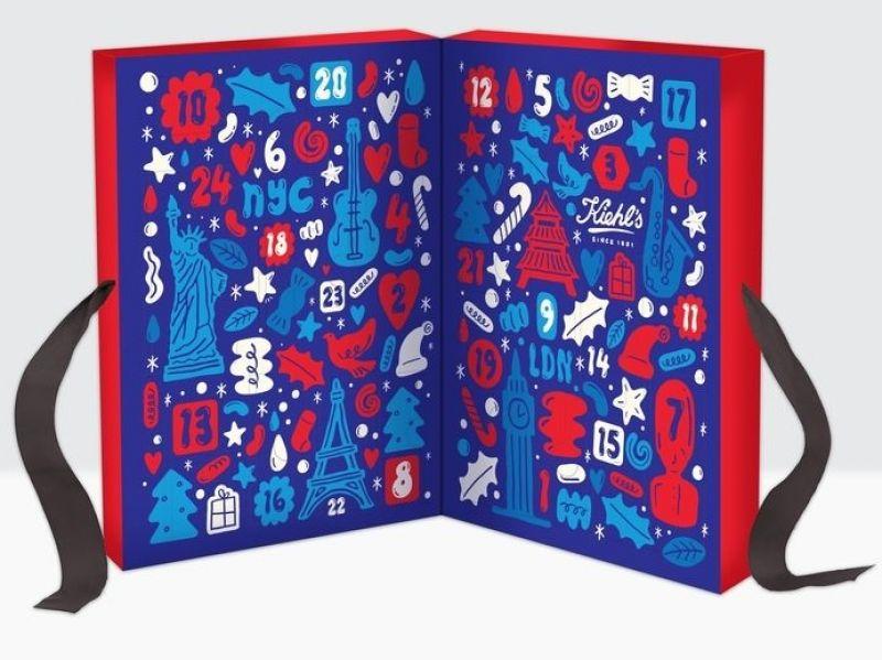 Kiehl's契爾氏2017 聖誕限量版倒數月曆,NT2,800