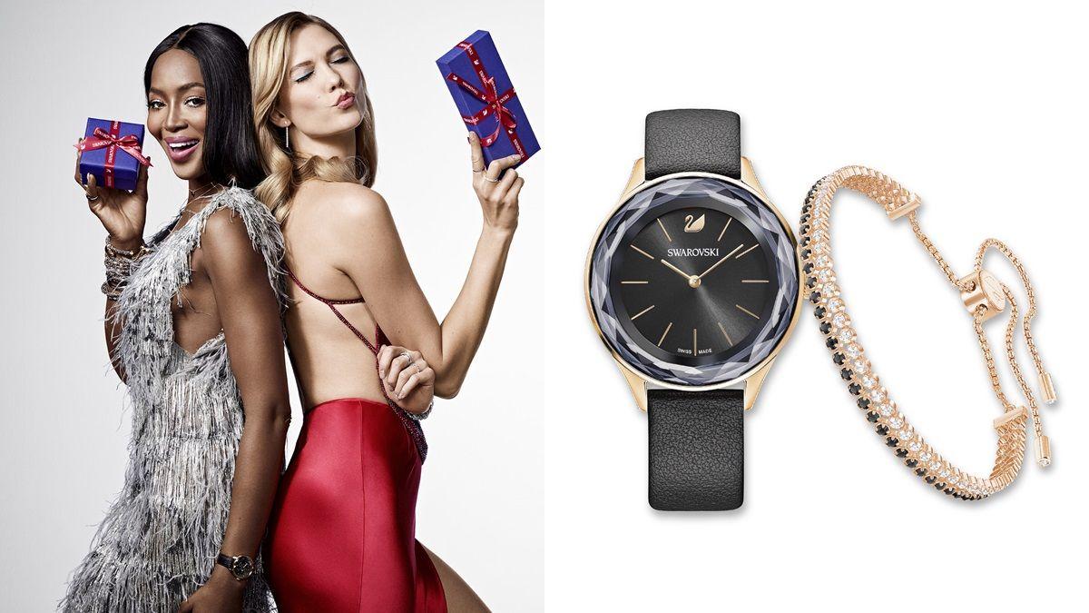 跟著Karlie Kloss、朴信惠一同派對!最適合聖誕節的施華洛世奇配件特輯